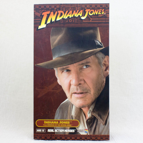 Indiana Jones as Harrison Ford Real Action Hero Figure Medicom Toy RAH JAPAN