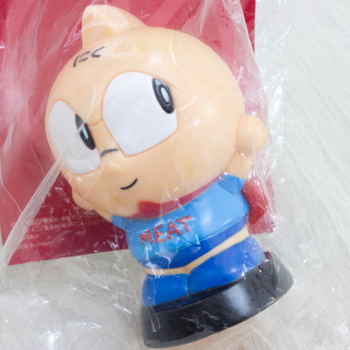 Kinnikuman Meat Kun Soft Vinyl Figure Coin Bank Ultimate Muscle JAPAN ANIME