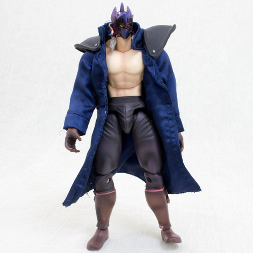 Kinnikuman KEVIN MASK Blue Jacket 2nd Generation Romando PVC Action Figure JAPAN