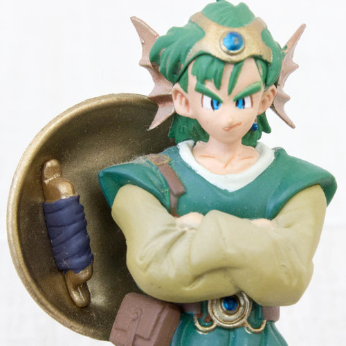 <Stand missing> Dragon Quest 4 Male Hero Mini Figure JAPAN WARRIOR
