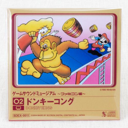 Donkey Kong Game Sound Museum Nintendo Music 8cm CD JAPAN FAMICOM
