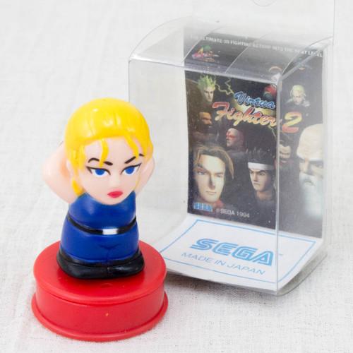 Virtua Fighter 2 Sarah Bryant Mascot Stamp SEGA 1994 JAPAN GAME FIGURE