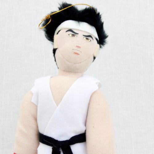 """Virtua Fighter 2 Akira Yuki 10"""" Plush Doll SEGA 1995 JAPAN GAME FIGURE"""