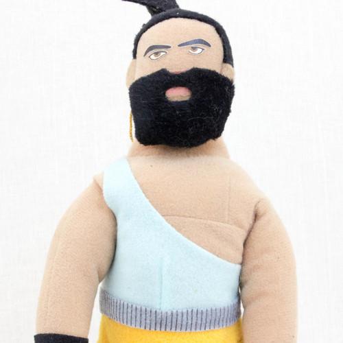 "Virtua Fighter 2 Jeffry McWild 10"" Plush Doll SEGA 1995 JAPAN GAME FIGURE"