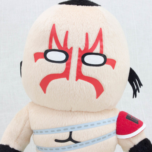 "Kinnikuman Mongol Man Plush Doll 8"" Panson Works JAPAN ANIME ULTIMATE MUSCLE"