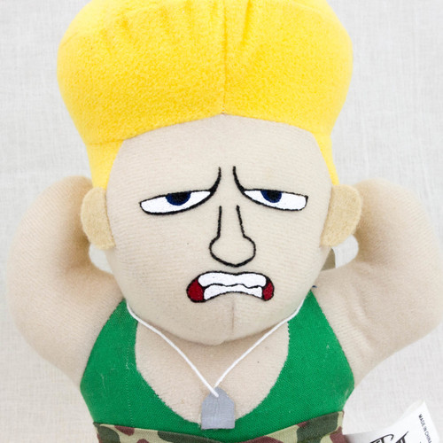 Street Fighter 2 Guile Plush Doll Figure Capcom Character JAPAN GAME