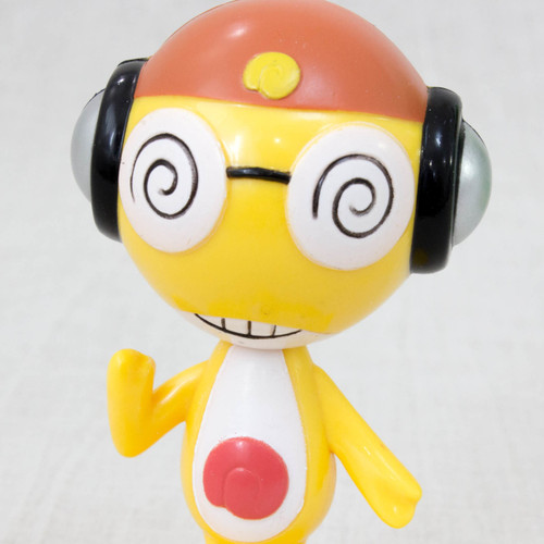 Keroro Gunso KURURU Swing Bubble Head Figure JAPAN ANIME MANGA