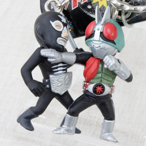 Kamen Rider VS. Shocker Figure Key Chain JAPAN TOKUSATSU