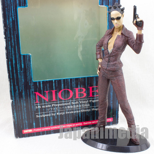 Matrix Reloaded NIOBE 1/6 PVC Figure Artfx Kotobukiya JAPAN
