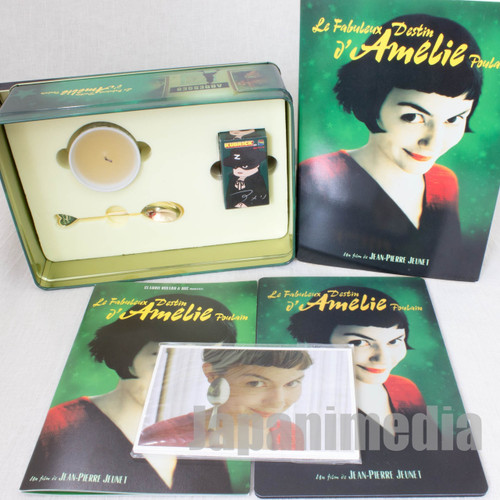 RARE! Amelie Le Fabuleux Destin Limited Collection Can Case Kubrick Zorro JAPAN