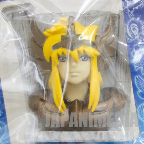 Saint Seiya Gold Cloths Cygnus Hyoga Mini Bust Figure JAPAN ANIME MANGA