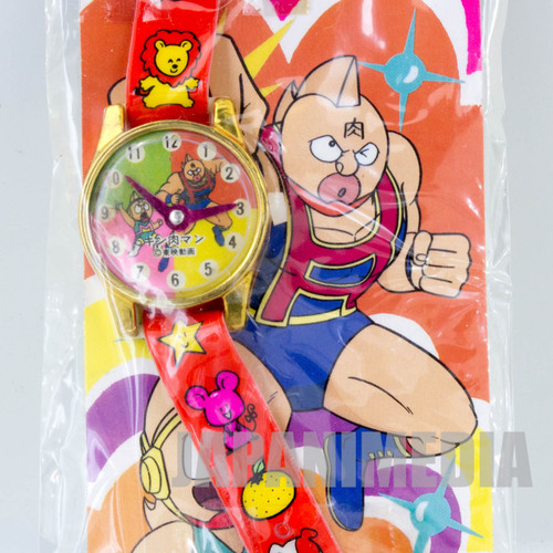 Retro RARE! Kinnikuman Charmy Watch Toy JAPAN ANIME ULTIMATE MUSCLE MAN 1