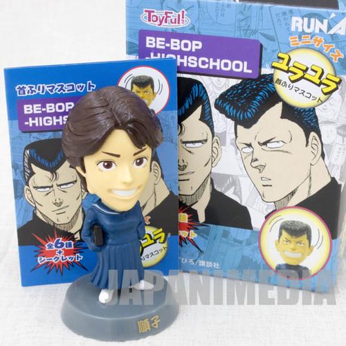 Be-Bop High School Junko Bobble Head Figure Toyfull JAPAN MANGA BE BOP