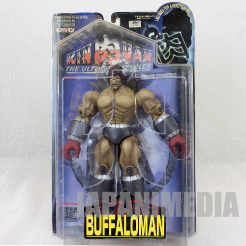 KINNIKUMAN BUFFALOMAN Romando PVC Action Figure JAPAN ANIME ULTIMATE MUSCLE