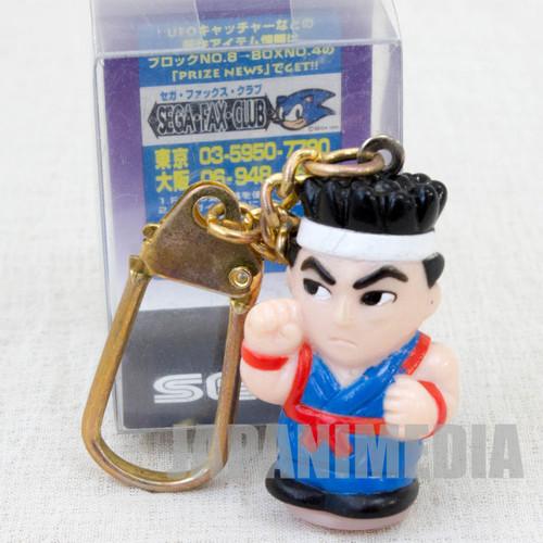 Virtua Fighter 2 Akira Yuki Figure Keychain SEGA 1994 JAPAN GAME