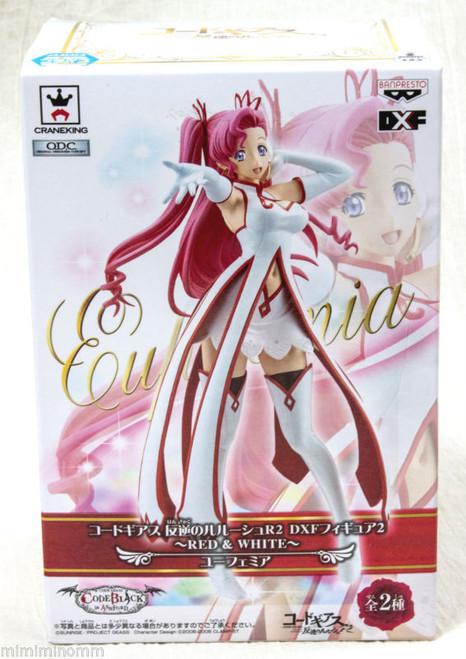 Code Geass R2 Euphemia DXF Figure Red & White Banpresto JAPAN ANIME MANGA