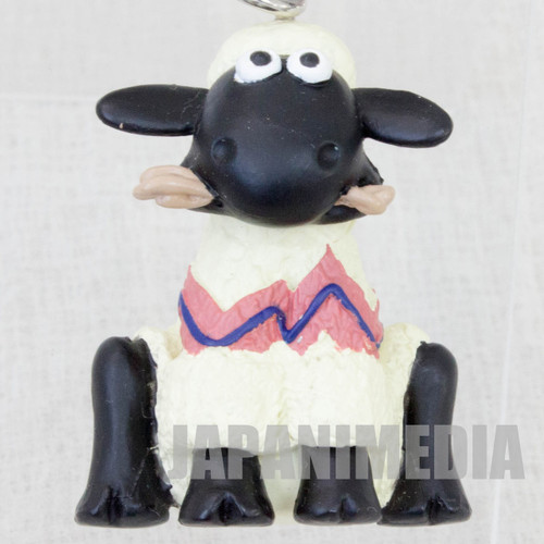 Wallace & Gromit Shaun Figure Key Chain Banpresto JAPAN Ardman ANIME