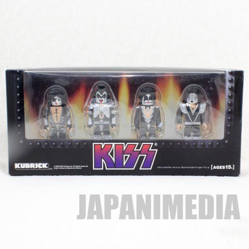 KISS Kubrick 4pc Set Figure Medicom Toy JAPAN ROCK BAND