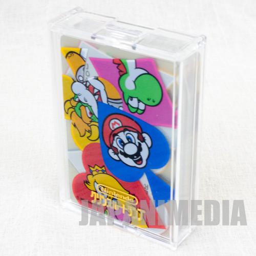 Super Mario World Trump Clear Playing Cards Koopa Yoshi Peach JAPAN FAMICOM