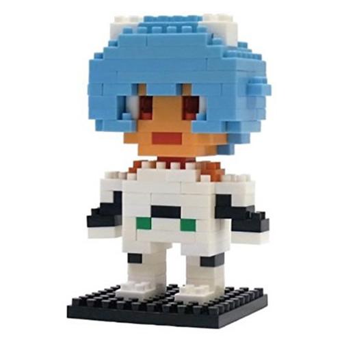 Evangelion Rei Ayanami Plug Suit Kawada Nanoblock Nano Block JAPAN FIGURE