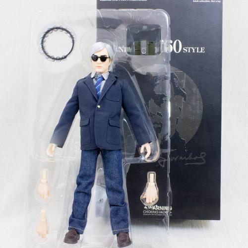 Andy Warhol '60s Style Real Action Heros Figure Medicom Toy RAH JAPAN