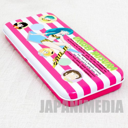Retro RARE Urusei Yatsura Pen Case LUM JAPAN ANIME MANGA 5