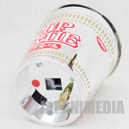 """RARE! Nissin Cup Noodle Package type Music Box """"First Love"""" Limited JAPAN"""