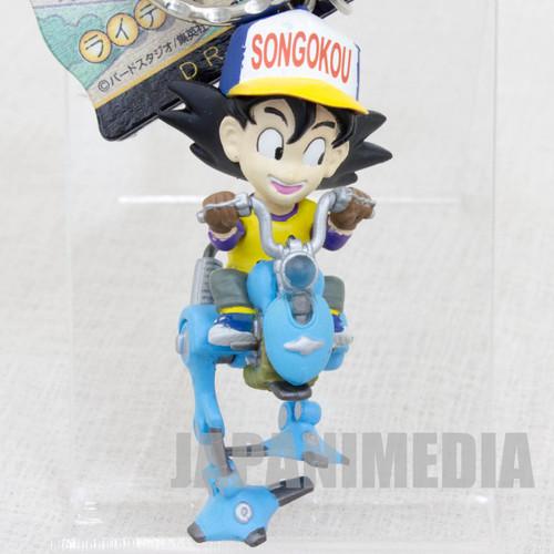 RARE! Dragon Ball Z Son Gokou Mecha Riding Figure Key Chain JAPAN ANIME MANGA
