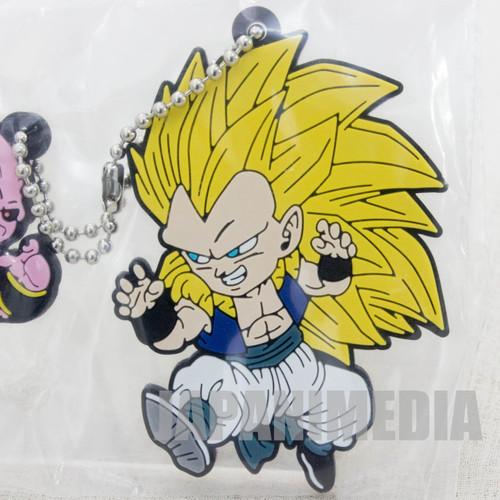 Dragon Ball Z Super Saiyan Gotenks + Majin Boo Rubber Mascot Ballchain