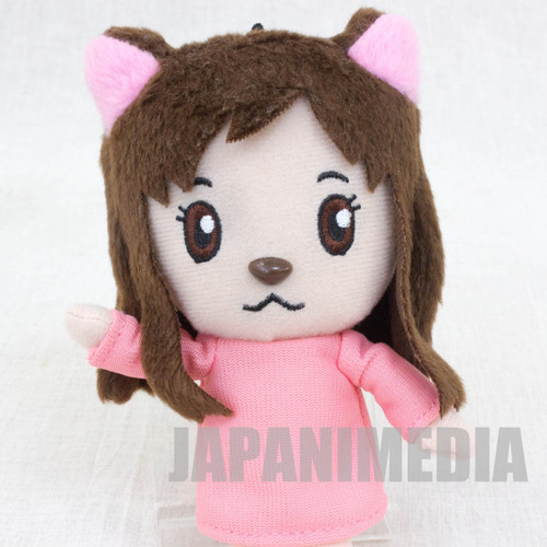 RARE! Wolf Children Ame and Yuki Mini Plush Doll Set JAPAN ANIME Ookami Kodomo