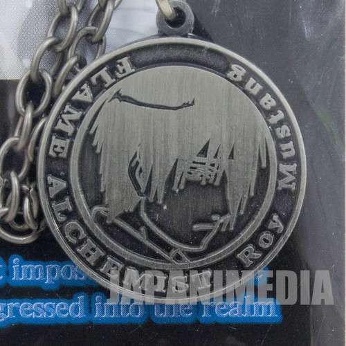 FullMetal Alchemist Roy Mustang Medal Strap JAPAN