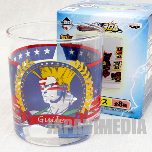 Street Fighter 30th Glass #3 Capcom Character Banpresto JAPAN GAME
