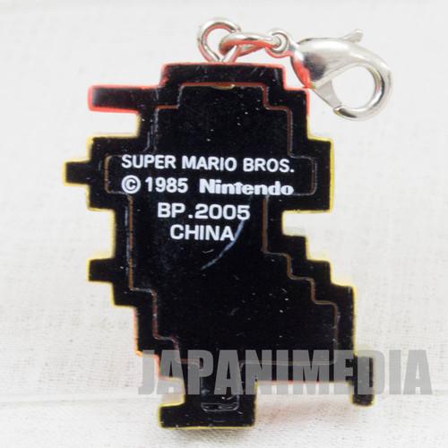 Super Mario Bros. Dot Character Mario Mascot Charm Famicom NES NINTENDO JAPAN
