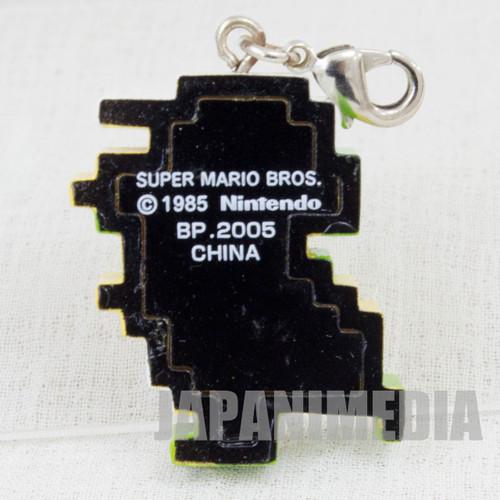 Super Mario Bros. Dot Character Luige Mascot Charm Famicom NES NINTENDO JAPAN