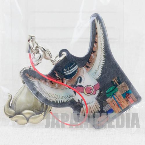 Hoozuki no Reitetsu Tsuzura Metal Plate Mascot Strap JAPAN ANIME MANGA