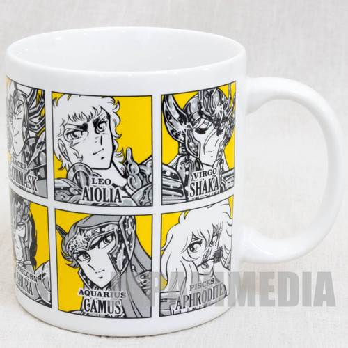 Saint Seiya Mug Weekly Jump Magazine 50th Anniversary JAPAN ANIME MANGA