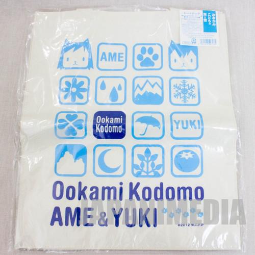 Wolf Children AME YUKI Tote Bag JAPAN Ookami Kodomo HOSODA MAMORU