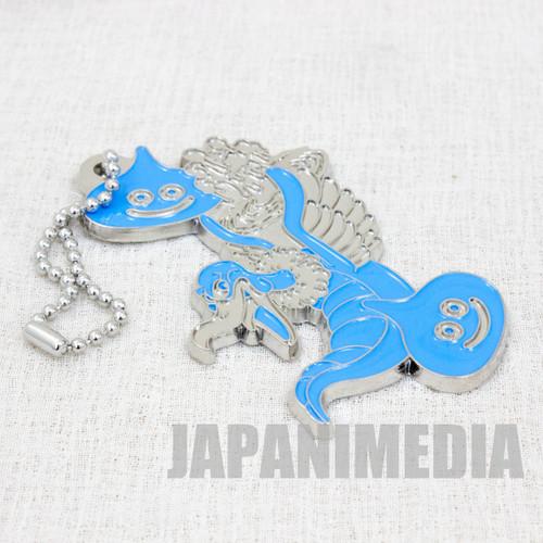 Dragon Quest Monster Metal Charm Strap Blue Ver. Slime Hunter JAPAN GAME