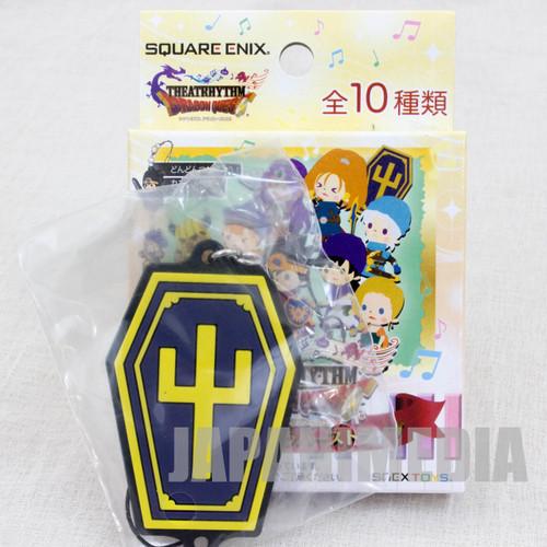 Dragon Quest Theatrhythm Rubber Charm Strap Coffin JAPAN GAME WARRIOR