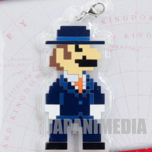 Super Mario Odyssey Rubber Charm Black Suit Banpresto JAPAN NINTENDO SWITCH