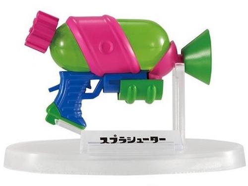 Splatoon 2 Splattershot Weapon Figure Collection JAPAN BANDAI Nintendo Switch
