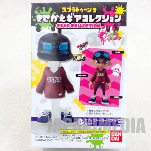 Splatoon 2 Dress-up Figure Gear Collection GEAR Set #1 JAPAN Nintendo Switch
