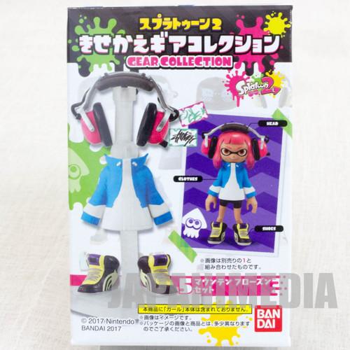 Splatoon 2 Dress-up Figure Gear Collection GEAR Set #3 JAPAN Nintendo Switch