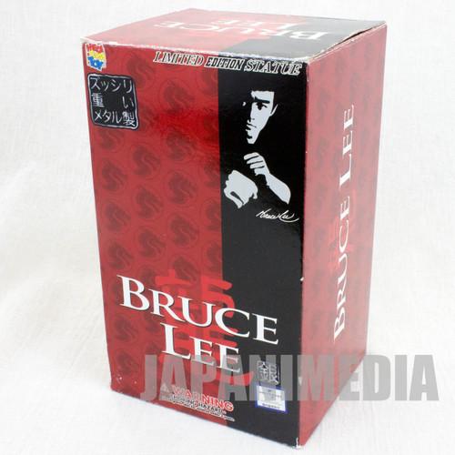 BRUCE LEE Metal Statue Figure Silver ver. Medicom Toy JAPAN KUNG FU MOVIE