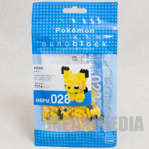 Pokemon Pichu Kawada Nanoblock Nano Block NBPM-028 JAPAN ANIME FIGURE