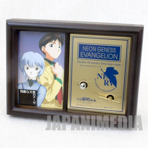 "Evangelion Music Box ""A cruel angel's thesis"" Shinji Ayanami Rei JAPAN ANIME"