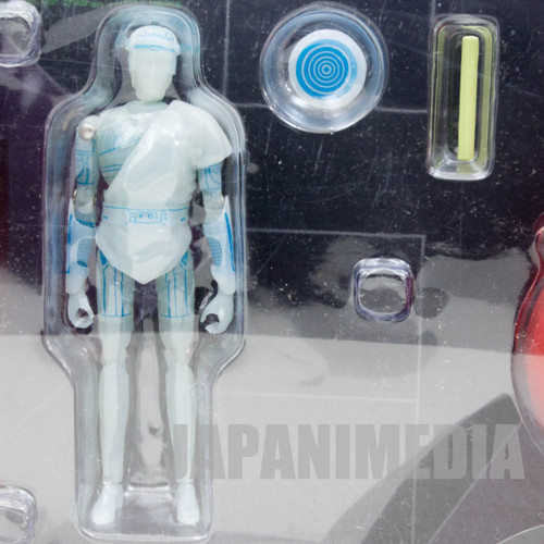 TRON Real Action Heroes Figure Soldier & Light Cycle Red Set B Medicom Toy