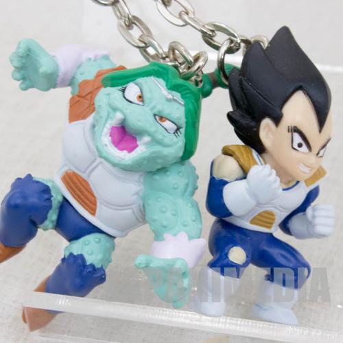 Dragon Ball Z Vegeta + Zarbon Twin Figure Key Chain JAPAN ANIME MANGA