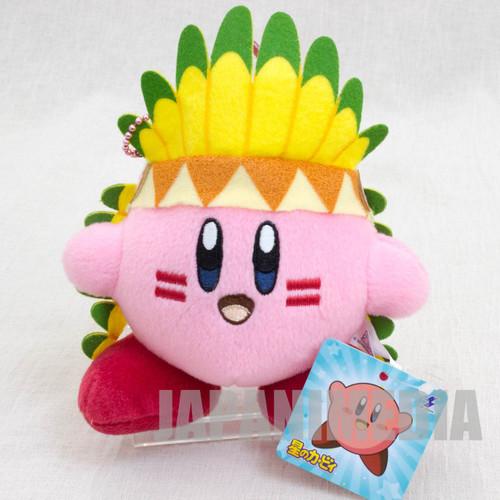 Kirby Super Star Wing Kirby Plush Doll Ballchain Banpresto JAPAN GAME NINTNEDO