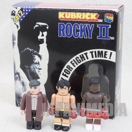 ROCKY II 2 Kubrick figure set APOLLO MICKEY Medicom Toy JAPAN Sylvester Stallone